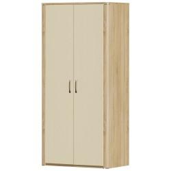 Шкаф Рондо 2D глянцевый двухдверный