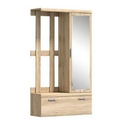 Шкаф с зеркалом и вешалкой Дюна