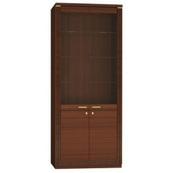 Шкаф-витрина Милан широкий