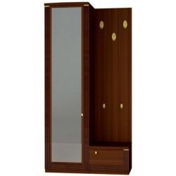 Шкаф с зеркалом и вешалкой Милан