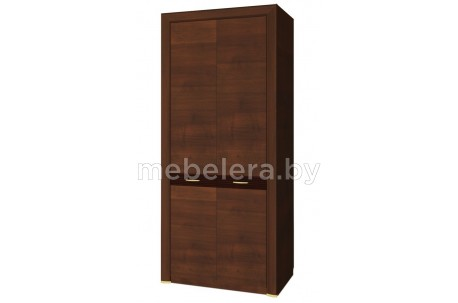 Шкаф двухдверный комбинированный Вена