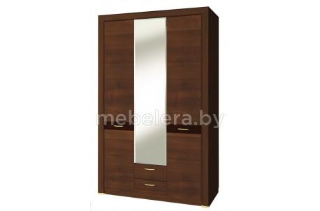 Шкаф трехдверный Вена с зеркалом