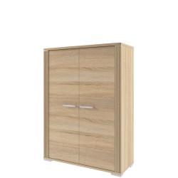 Шкаф двухдверный Остин низкий