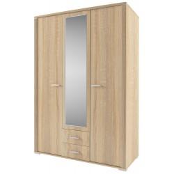 Шкаф трехдверный Остин с зеркалом