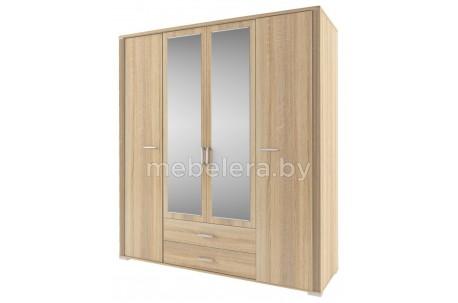 Шкаф Остин 4D2S с зеркалом