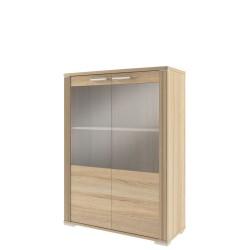 Шкаф-витрина Остин низкий