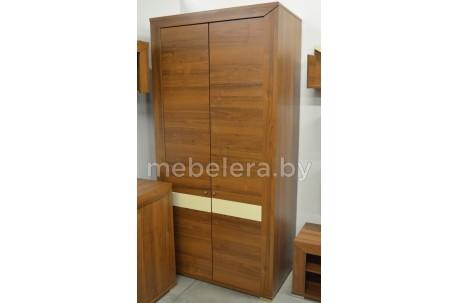Шкаф Порто двухдверный комбинированный