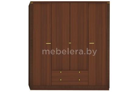 Шкаф Милан 4D2S четырехдверный
