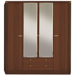 Шкаф Милан четырехдверный с зеркалом
