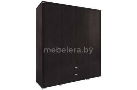 Шкаф 4D2S Монте четырехдверный