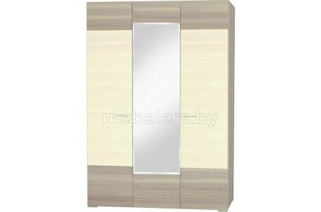 Шкаф трехдверный Лайт с зеркалом