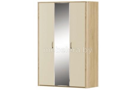 Шкаф Рондо 3D глянцевый с зеркалом
