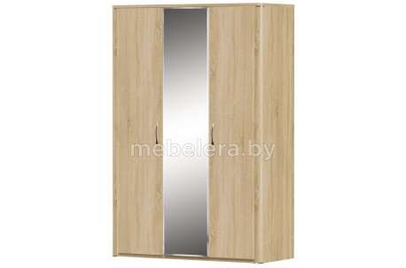 Шкаф 3D Рондо с зеркалом