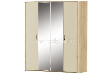 Шкаф Рондо 4D глянцевый с зеркалом