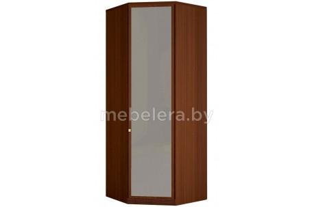 Шкаф угловой комбинированный Милан 91 с зеркалом