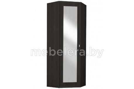 Шкаф угловой комбинированный Монте 91 с зеркалом