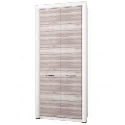 Шкаф двухдверный комбинированный Оливия