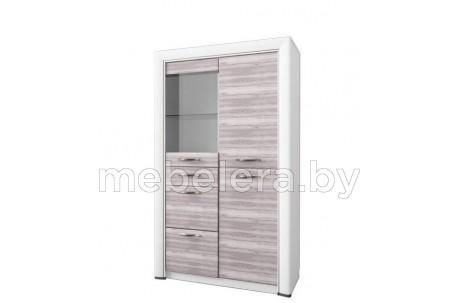 Шкаф-витрина Оливия 1V2D3S