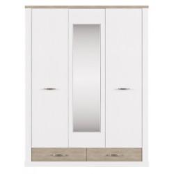 Шкаф трехдверный Прованс с зеркалом