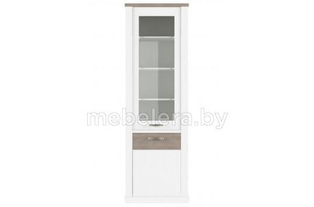 Шкаф-витрина Прованс 1V1D