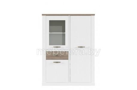 Шкаф-витрина Прованс 1V2D1S