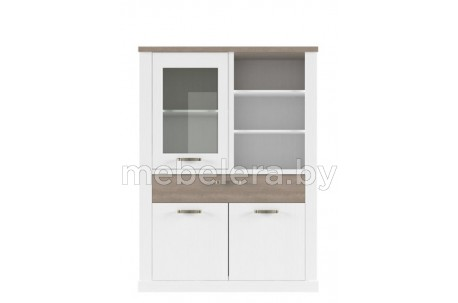 Шкаф-витрина Прованс 1V2D1SN