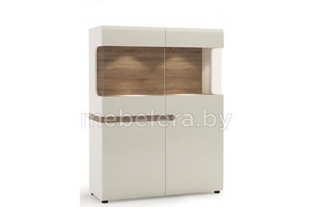 Шкаф-витрина Линате 3D-1S / TYP 33