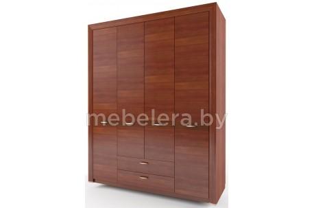 Шкаф четырехдверный Вена 4D2S