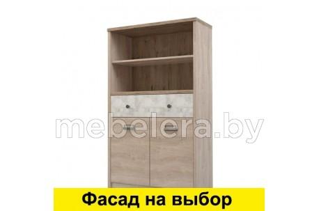 Шкаф открытый Дизель 2D1S2NL/D2 энигма