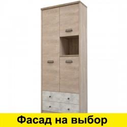 Шкаф с полками Дизель