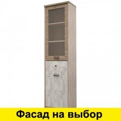 Шкаф-витрина Дизель узкий