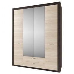 Шкаф Денвер 4D2SZ с зеркалом