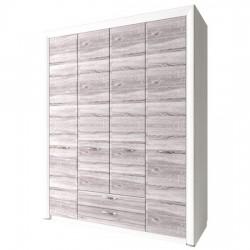 Шкаф Оливия четырехдверный 4D2S