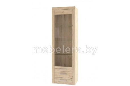 Шкаф-витрина Оскар 1V2SB