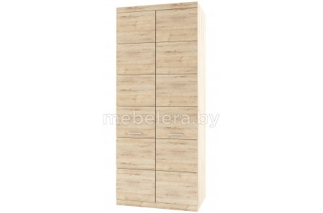Шкаф двухдверный комбинированный Оскар 2DG