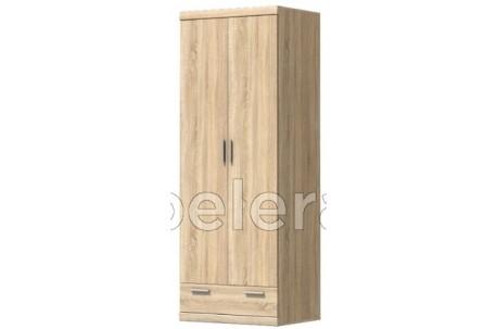 Шкаф двухдверный Дюна с ящиком