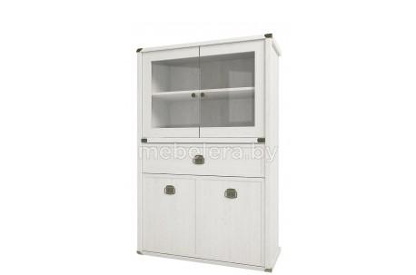 Шкаф-витрина Магеллан 2V2D1SL низкий