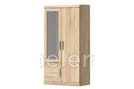 Шкаф-витрина Дюна широкий