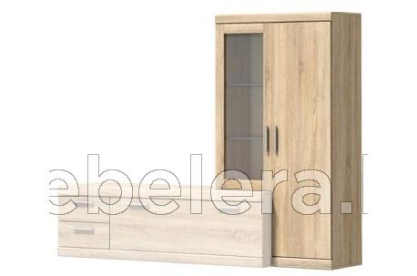 Шкаф-витрина Дюна Г-образный