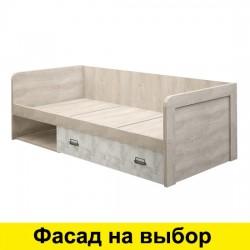 Кровать Дизель 90-1 с нишей