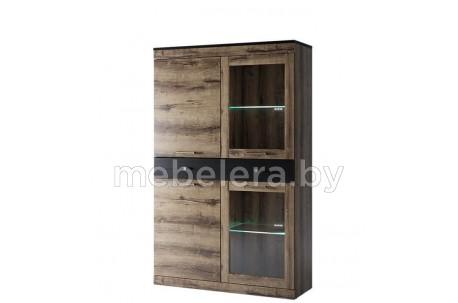 Шкаф-витрина Джаггер 2V2D1S
