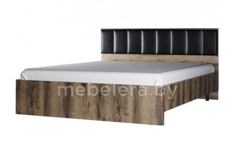 Кровать Джаггер двуспальная 160 с мягким изголовьем
