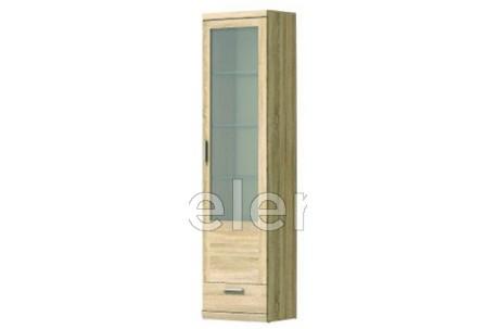 Шкаф-витрина Дюна узкий