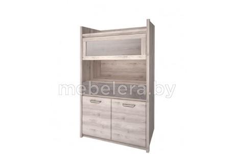 Шкаф-витрина Джаз 1V2D1S
