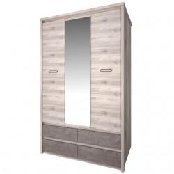 Шкаф трехдверный Джаз 3DG4SZ