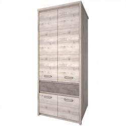 Шкаф двухдверный Джаз 4DG1S