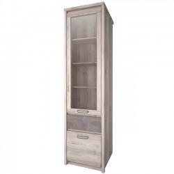 Шкаф-витрина Джаз 1V1D1S