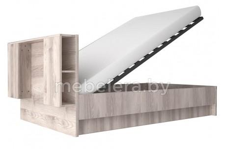 Кровать Джаз полуторная 140 подъемная с нишей