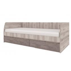 Кровать Джаз односпальная с ящиками