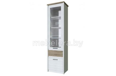Шкаф-витрина Provence 1V1D1S